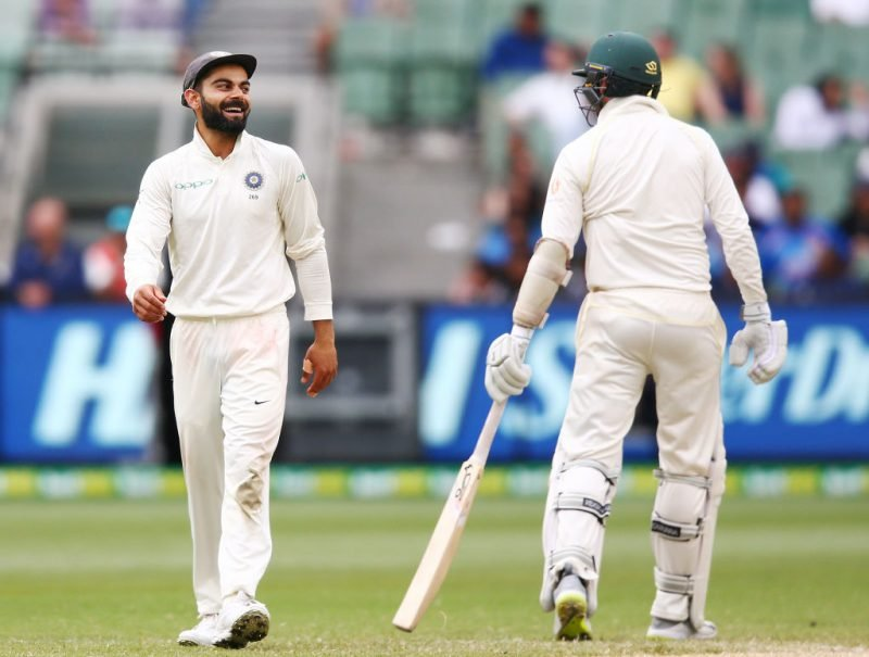 Justin Langer said Australia had their hands tied behind their backs during the India series, even as Kohli chirped away