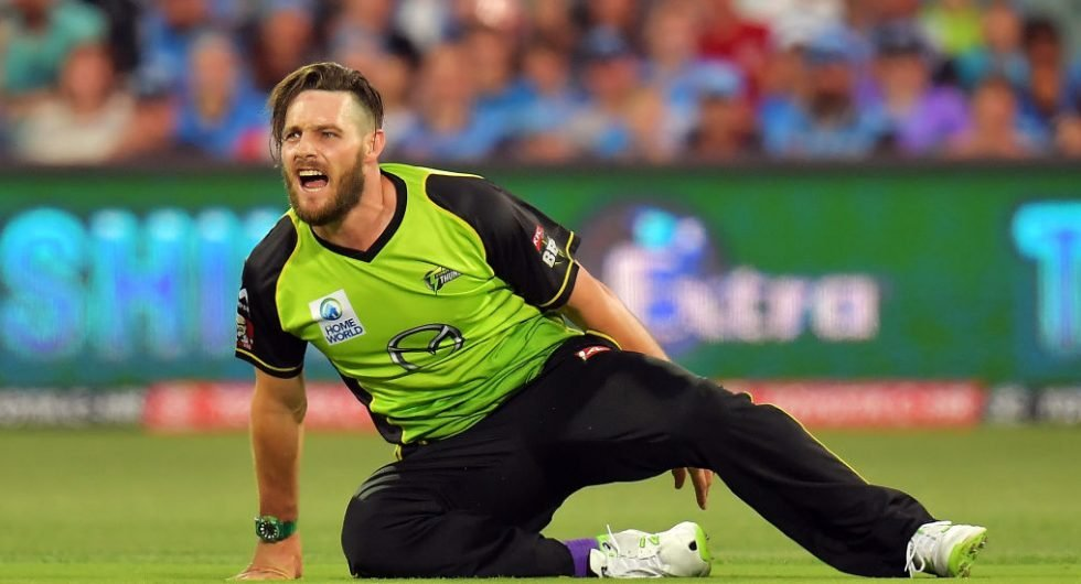 Mitchell McClenaghan playing BBL in Australia