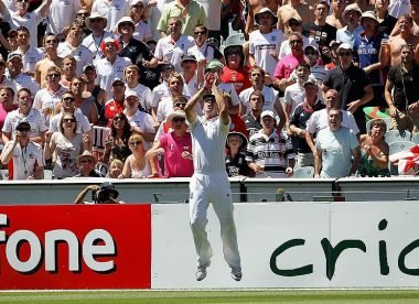 My Favourite Photo: Pietersen holds on Down Under