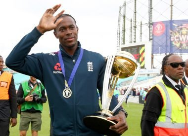 Jofra Archer finds lost World Cup medal in spare bedroom