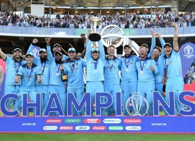 'Whatever happens will not define you' – England's super over memories