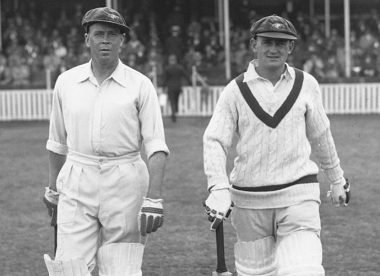 Bill Ponsford: Australia's run-machine who almost matched Bradman – Almanack