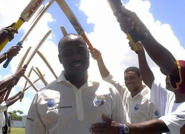 The Big Five who defined the era of batsmanship: Brian Lara