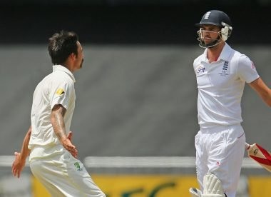 Broad and Anderson reminisce about 'ferocious' Mitchell Johnson during 2013/14 Ashes