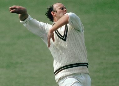 Vince van der Bijl: One half of Middlesex's destructive fast-bowling pair