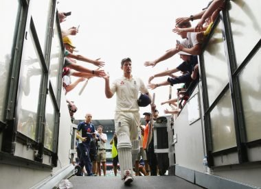 Stuart Broad: Alastair Cook 'burst into tears' after swansong MCG Ashes double