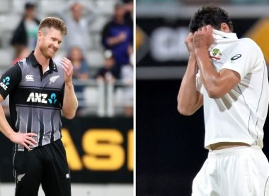 When Starc's attempt to sledge Neesham went horribly wrong