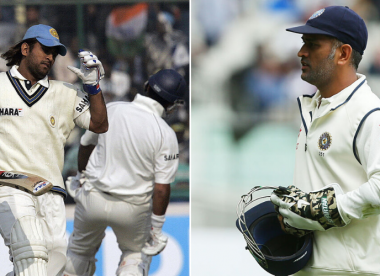 Quiz! Name the Indians who made their Test debut between MS Dhoni's first and last Test