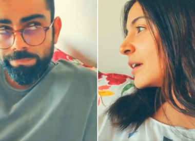 Anushka tries to bring the fan experience home for Kohli during lockdown