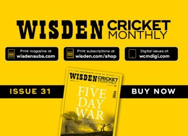 Wisden Cricket Monthly issue 31: The battle for the future of Test cricket