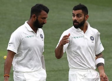 Kohli takes dig at Pujara, but the India No.3's witty comeback wins the day