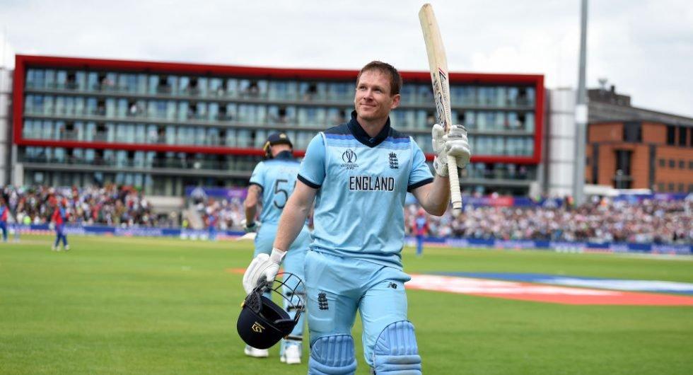 Eoin Morgan: 17 ODI sixes