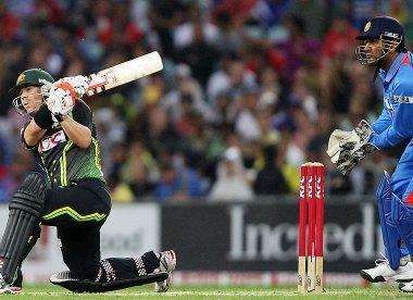 When David Warner unleashed a 100-metre switch-hit at the SCG