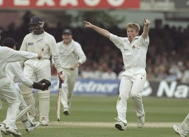 When a 22-year-old Glen Chapple ripped through Essex at Lord's