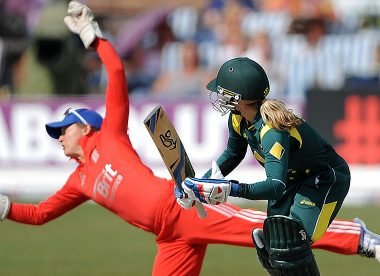 When Sarah Taylor pulled off a glorious take with her 'genuine reaction'