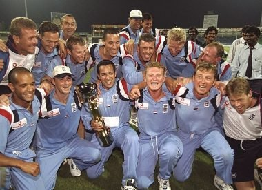 The unlikely lads: When Hollioake's England befuddled superstars to win the Champions Trophy