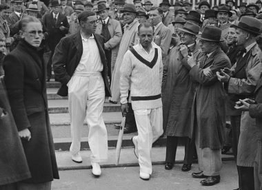 Bradman v Hammond: How the dynamic Don overshadowed Walter's brilliance