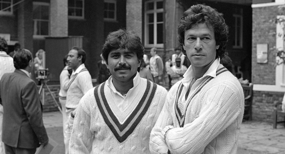 Imran Khan and Javed Miandad