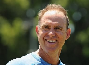 Matthew Hayden nearly missed the '380' game with a back injury