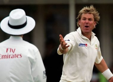 Warne criticises 'muppet' Bowden for dead ball call in Edgbaston '05 Test