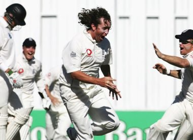 When Ryan Sidebottom took three-in-three in Hamilton
