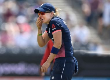 Heather Knight accidentally locks boyfriend out of flat during WWC17 final Watchalong