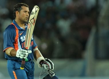 Quiz: Name the bowlers to dismiss Sachin Tendulkar in the 90s in ODIs