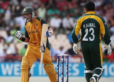 When a Mike Hussey howitzer floored Pakistan at Gros Islet