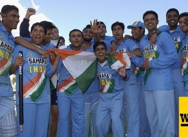 Wisden's India ODI team of the 2000s