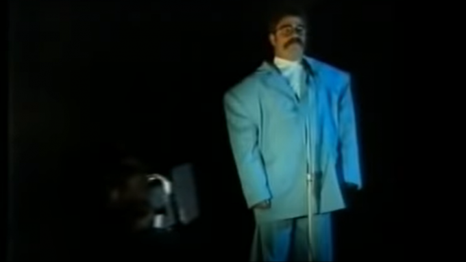 Watch: When David Boon channelled David Byrne