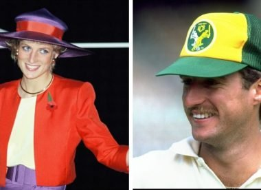 'These two are dangerous' – When the Australian side met Princess Diana in '85
