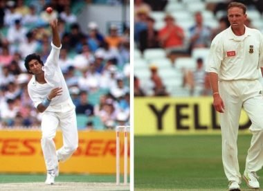 When Allan Donald gave Wasim Akram 20 stitches on his chin