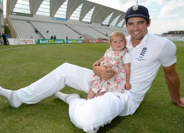 When Cook had to stop his daughter from singing rude Jonny Bairstow Barmy Army chant