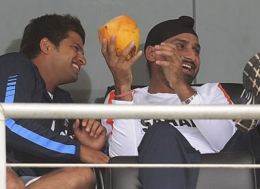 Harbhajan calls into question Suresh Raina's 'school bunk' anecdote