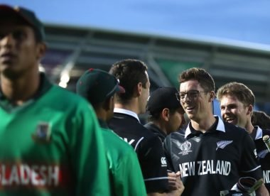 When New Zealand scrambled to victory over Bangladesh – Almanack