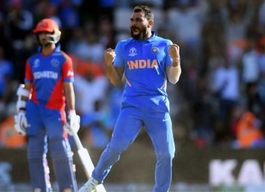 When Shami's hat-trick helped India weather the Afghanistan storm – Almanack