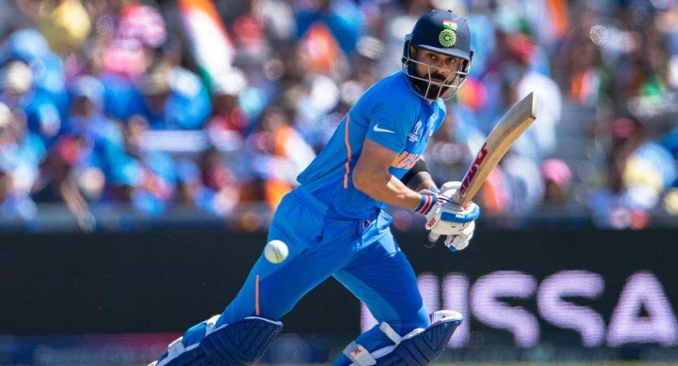 Kohli, India v West Indies, 2019 World Cup