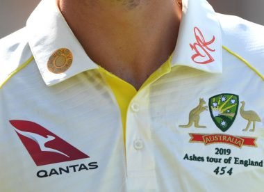 'It's an unfashionable time to criticise the introduction of logos on Test shirts'