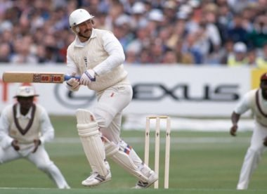 When gritty Gooch single-handedly outclassed the Windies at Headingley