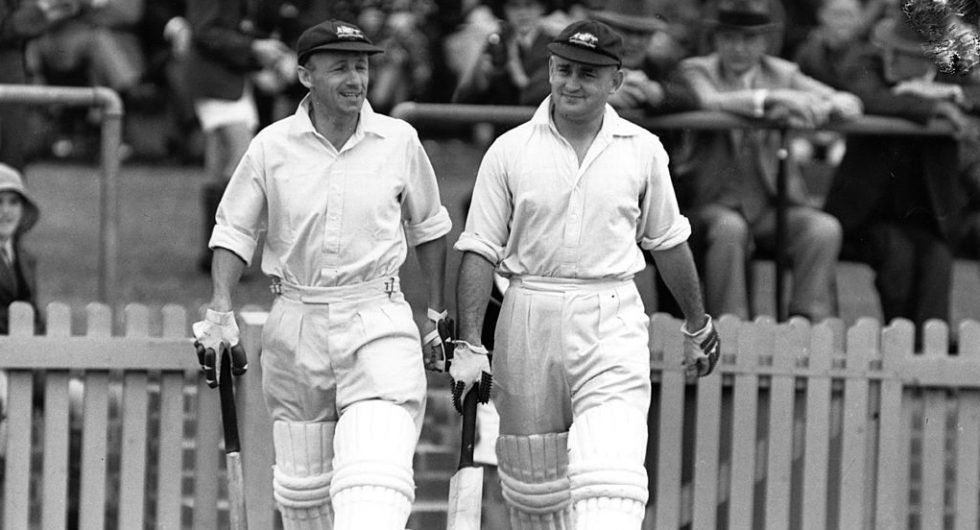Stan McCabe and Bradman