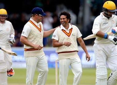 'Don't run him out' – When Aaron Finch opened with Sachin Tendulkar