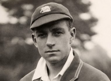 Walter Hammond: The 'self-taught cricketer' who became a batting great