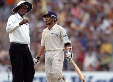 'I was unhappy' –Bucknor admits to making umpiring errors against Tendulkar