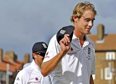 When a young Stuart Broad made an indelible mark on Ashes history – Almanack