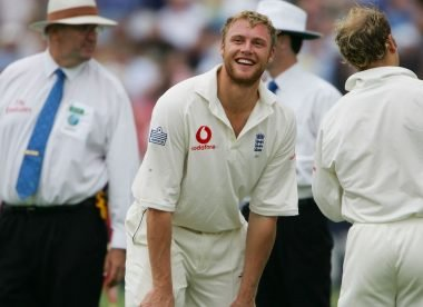 When Flintoff Senior dropped a sitter from his son