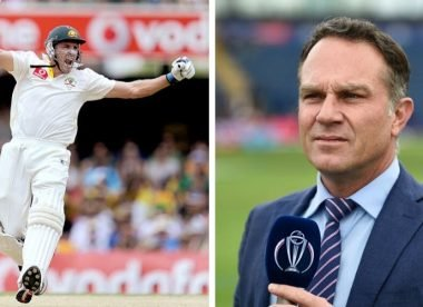 'Stuff you, Michael Slater' – How Hussey scored famous Ashes 195