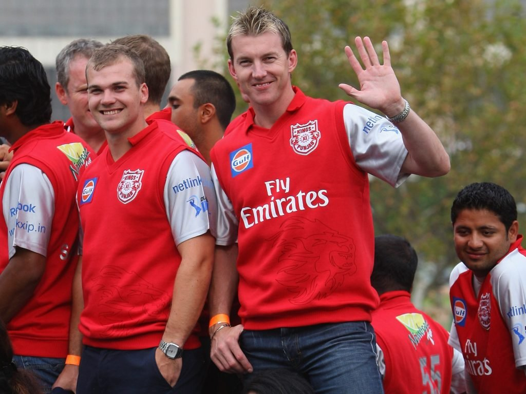 The KXIP players burst out laughing when Zinta revealed their playing kits