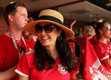 When Preity Zinta handled KXIP's 'costumes' & the players burst out laughing