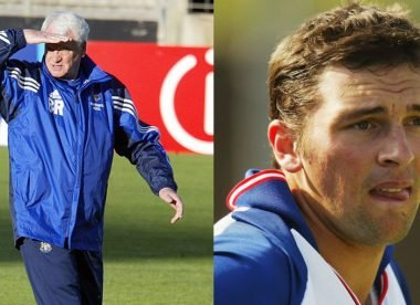 When Steve Harmison was on the receiving end of a Sir Bobby Robson telling off