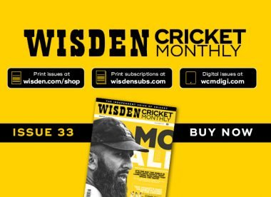 Wisden Cricket Monthly issue 33: Moeen Ali on sport, politics & carrying the fight